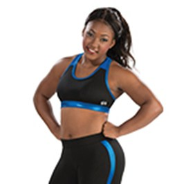 GK All Star Mesh Racerback Cheer Crop Top