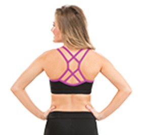 GK All Star Criss Cross Craze Cheer Crop Top