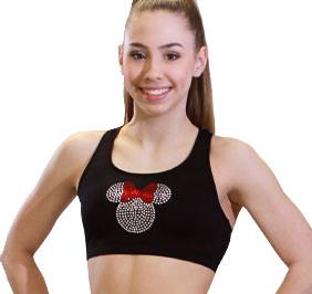 GK All Star Sparkle Minnie Cheer Crop Top