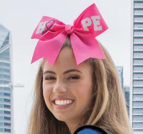 Chasse Pink Hope Hair Bow