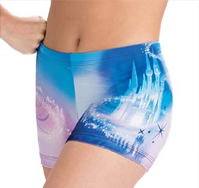 Cinderella Castle Cheer Shorts