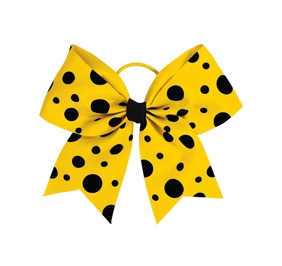 Chasse Crazy For Dots Hair Bow