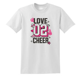 Chasse Love To Cheer Tee