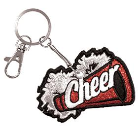 Chasse Cheer Loud Keychain