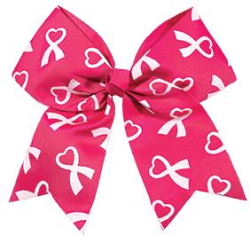 Chasse Cheer for the Cause Performance Hair Bow