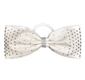 Chasse Cheer Bling Tailless Performance Hair Bow
